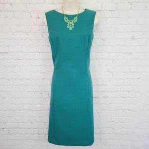 Talbots Emerald Shift Dress